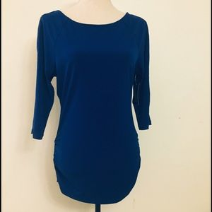 I.N.C Top Long Sleeve  M Blue